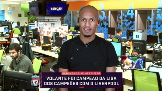 Fabinho diz que esperava ser convocado para a Copa América e revela chateação