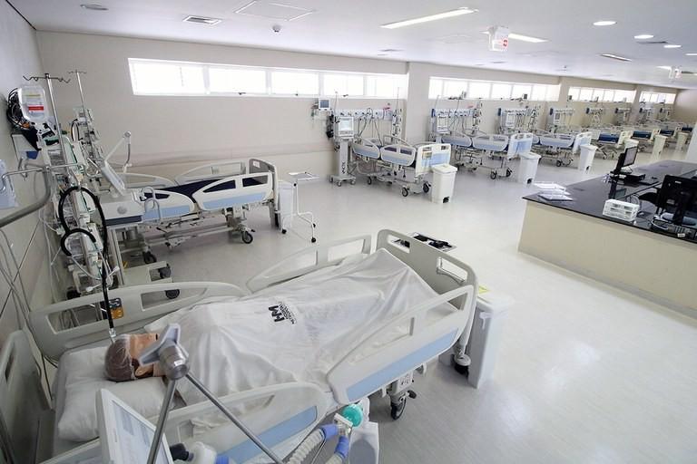 Hospital Solidário, em Santa Rita, recebe primeiros pacientes de Covid-19 na Paraíba