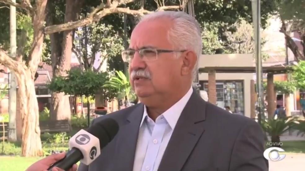 Família confirma o falecimento do prefeito de Arapiraca, Rogério Teófilo — Foto: Reprodução/TV Gazeta