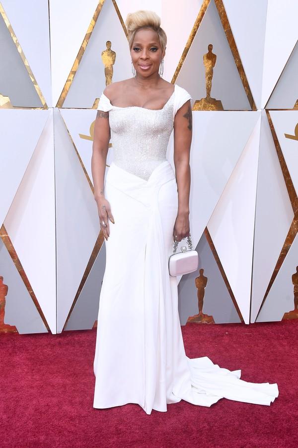 Mary J. Blidge, que é uma das indicadas ao Oscar de Melhor Atriz Coadjuvante (Foto: Getty Images)