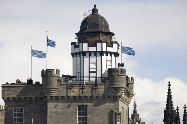 A Camera Obscura and World of Illusions é uma popular atração turística de Edimburgo, na Escócia (Foto: Getty Images/BBC)