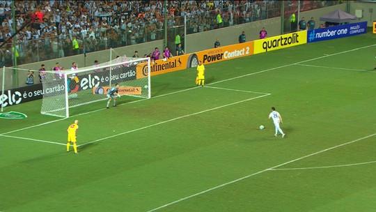 Victor, do Atlético-MG, pega dois pênaltis e é o vilão da rodada do É Gol!!!