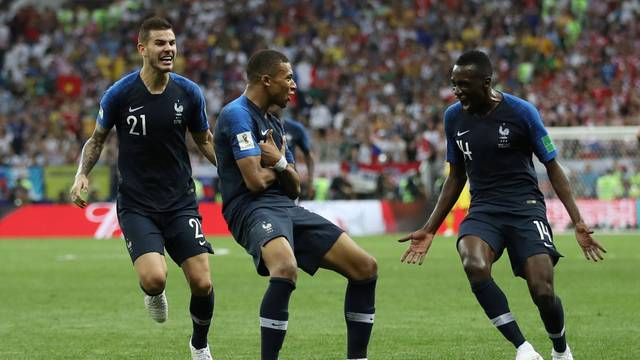 França Croacia final Copa do Mundo Mbappe