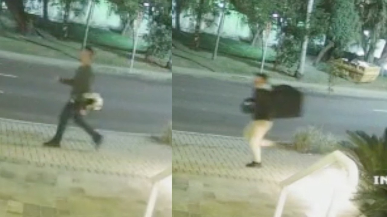 Vídeo mostra suspeitos fugindo após atirarem em jovem empresário em Curitiba