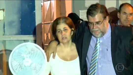 Rosinha Garotinho deixa prisão e será monitorada por tornozeleira