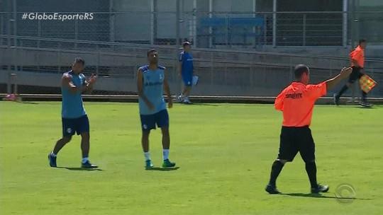 Em teste para os titulares, Grêmio vence o Cruzeiro-RS em jogo-treino; veja a escalação