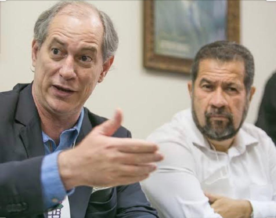 Carlos Lupi, presidente nacional do PDT, e Ciro Gomes, vice-presidente do partido, vão entrar, no STF, com ação judicial de interdição de Bolsonaro