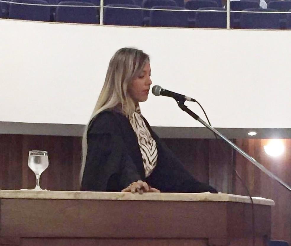 Paloma Gurgel é uma das advogadas de Marcinho VP (Foto: Arquivo Pessoal)