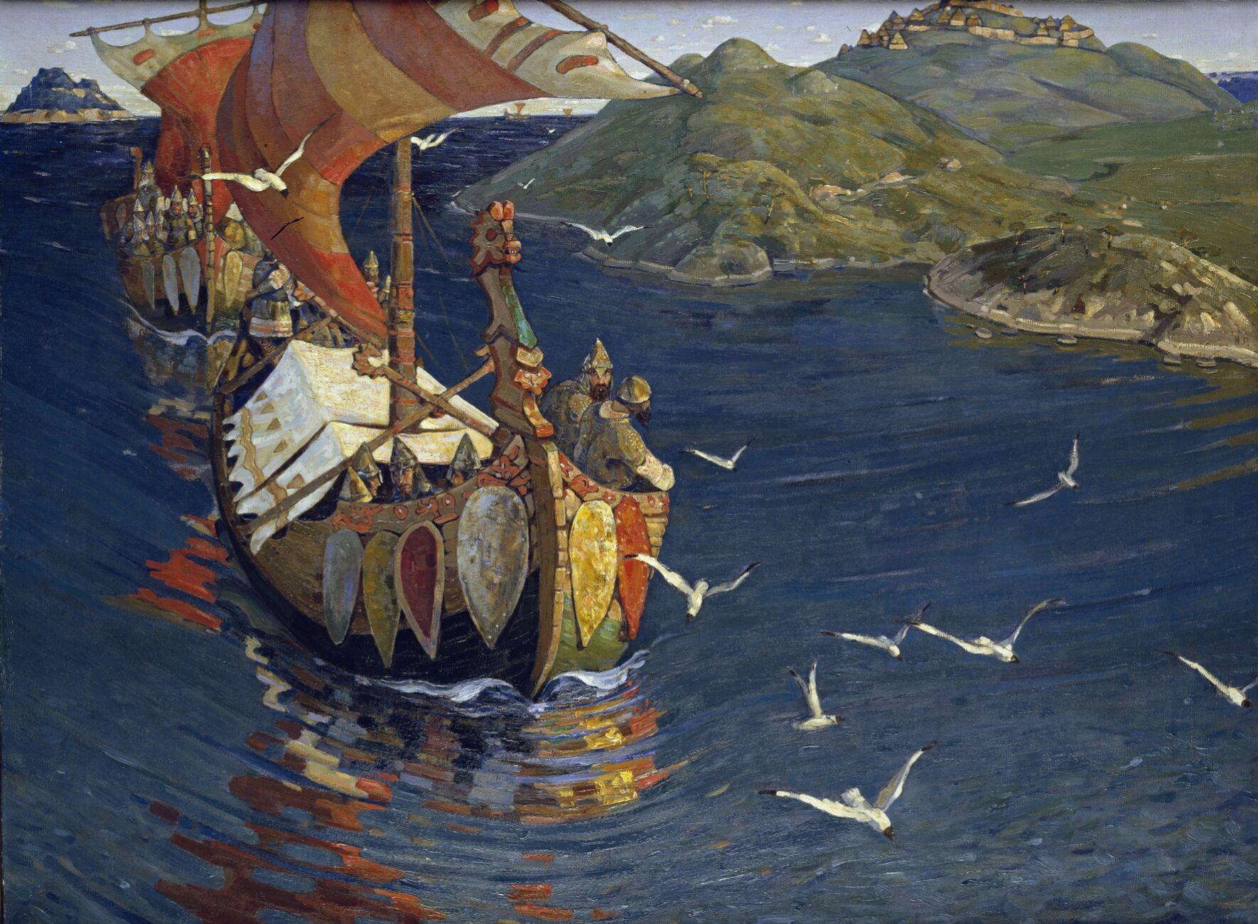 Navegações realizadas pelos vikings (Foto: Reprodução)