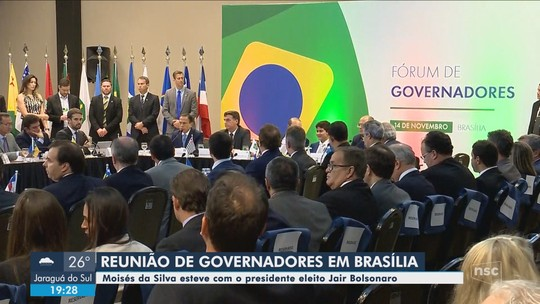 Governador eleito diz que estatais catarinenses deverão ser privatizadas