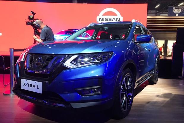Nissan X-Trail apareceu em versão híbrida (Foto: Diogo de Oliveira/Autoesporte)