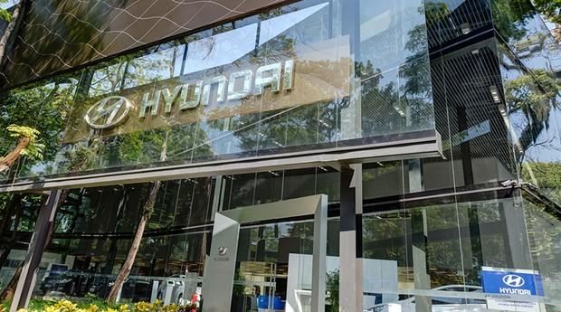 Concessionária da Hyundai (Foto: Reprodução)