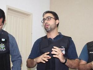 Delegado se surpreendeu com frieza de suspeito (Foto: Rafael Maia/OuroPretodoOeste.com)