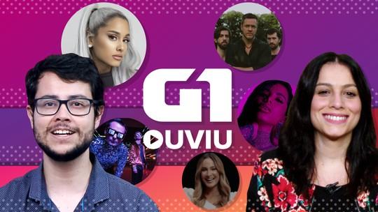 G1 Ouviu: Anitta e Ariana Grande fazem pop das solteiras e Muse faz 'redação nota 10 do Enem'