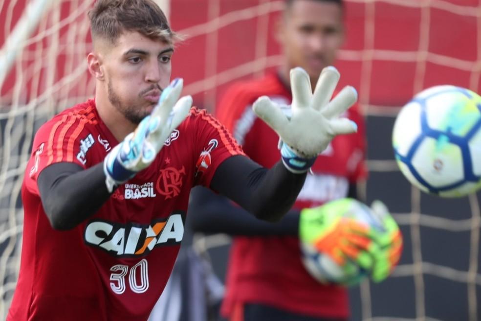 Thiago está sem espaço no Flamengo — Foto: Gilvan de Souza/Flamengo