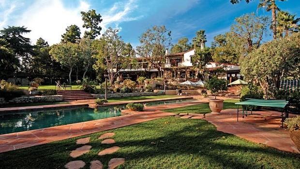Mansão em de Jeff Bezos em Beverly Hills, California (Foto: Reprodução/Dream Homes Magazine)