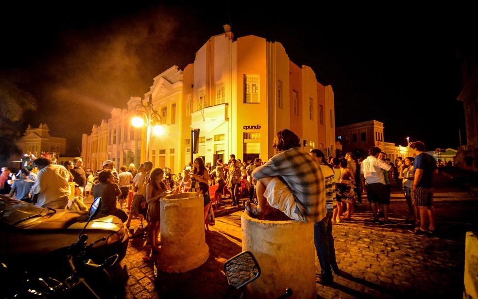 """""""Menor São João do Mundo"""" acontece no Centro Cultural Espaço Mundo e tem parte da programação gratuita — Foto: Thercles Silva/Divulgação/Arquivo"""