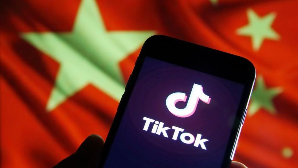 TikTok está no centro de uma disputa entre China e EUA — Foto: Getty Images/BBC