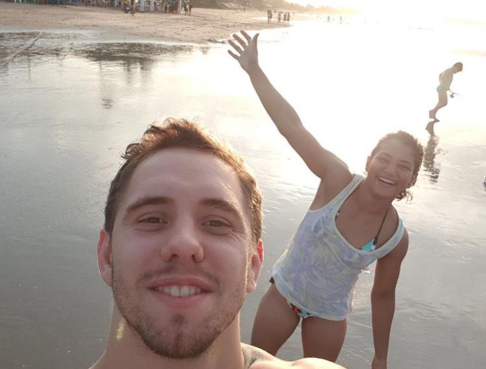 Sarah Menezes curte férias com o namorado no Piauí  (Foto: Reprodução/Instagram)