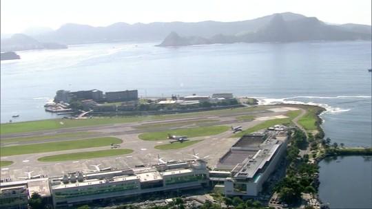 Pista principal do Aeroporto Santos Dumont é fechada para reforma