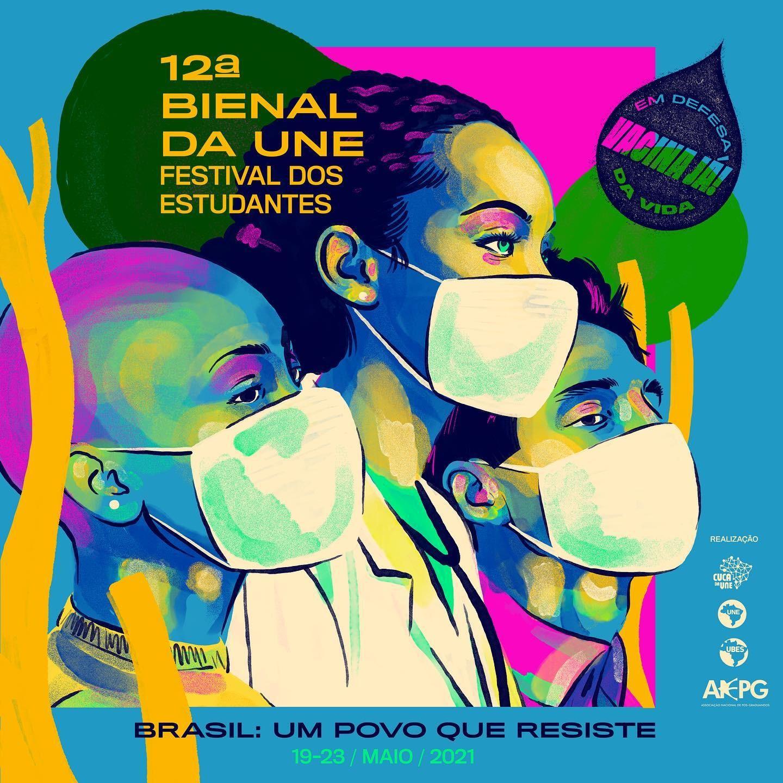 12ª Bienal da UNE recebe inscrições para mostras até esta sexta