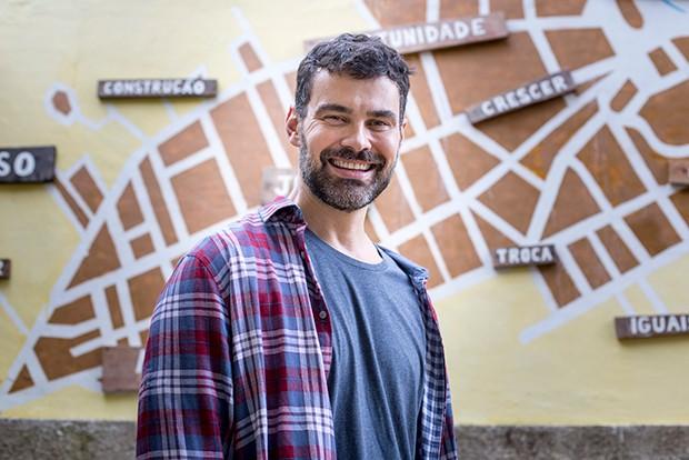 Carmo Dalla Vecchia vive Rafael Porto em 'Malhação – Vidas Brasileiras' (Foto: Globo/Marília Cabral)