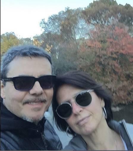 Cassio Gabus Mendes e Lídia Brondi (Foto: Reprodução/Instagram)