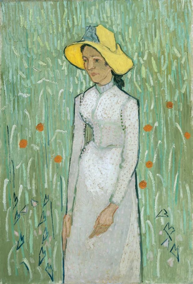 Girl In White (1890), de Vincent van Gogh (Foto: Alamy/ Fotoarena e Bridgeman/ Fotoarena, Nacho Alegre/ Acervo Vogue Living Espanha, Elena Olay/ Acervo Vogue Living Espanha e Imaxtree)