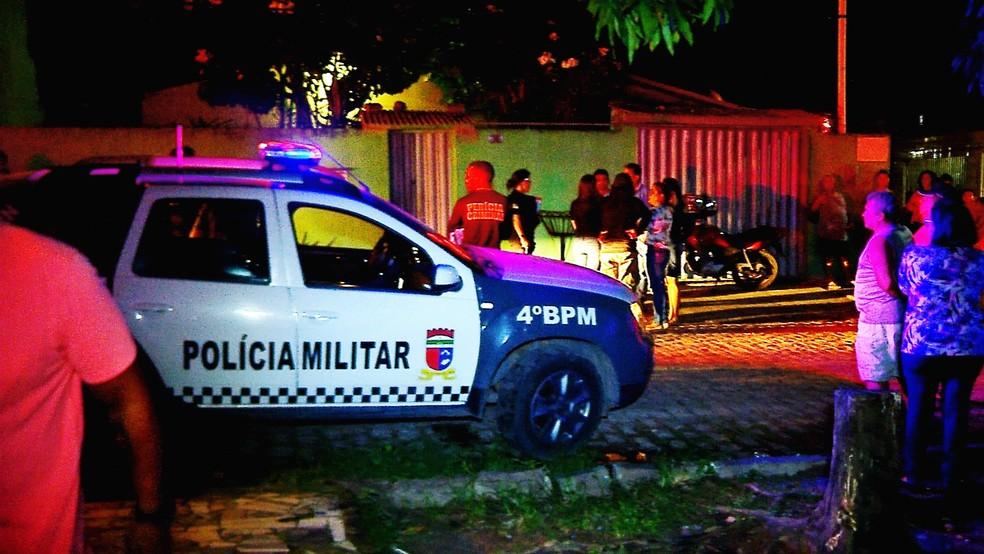 Idoso foi encontrado morto dentro de casa pelo próprio filho  — Foto: Inter TV Cabugi/Reprodução