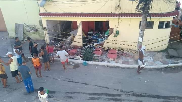Família atingida por explosão de botijão de gás em São João de Meriti segue em estado grave