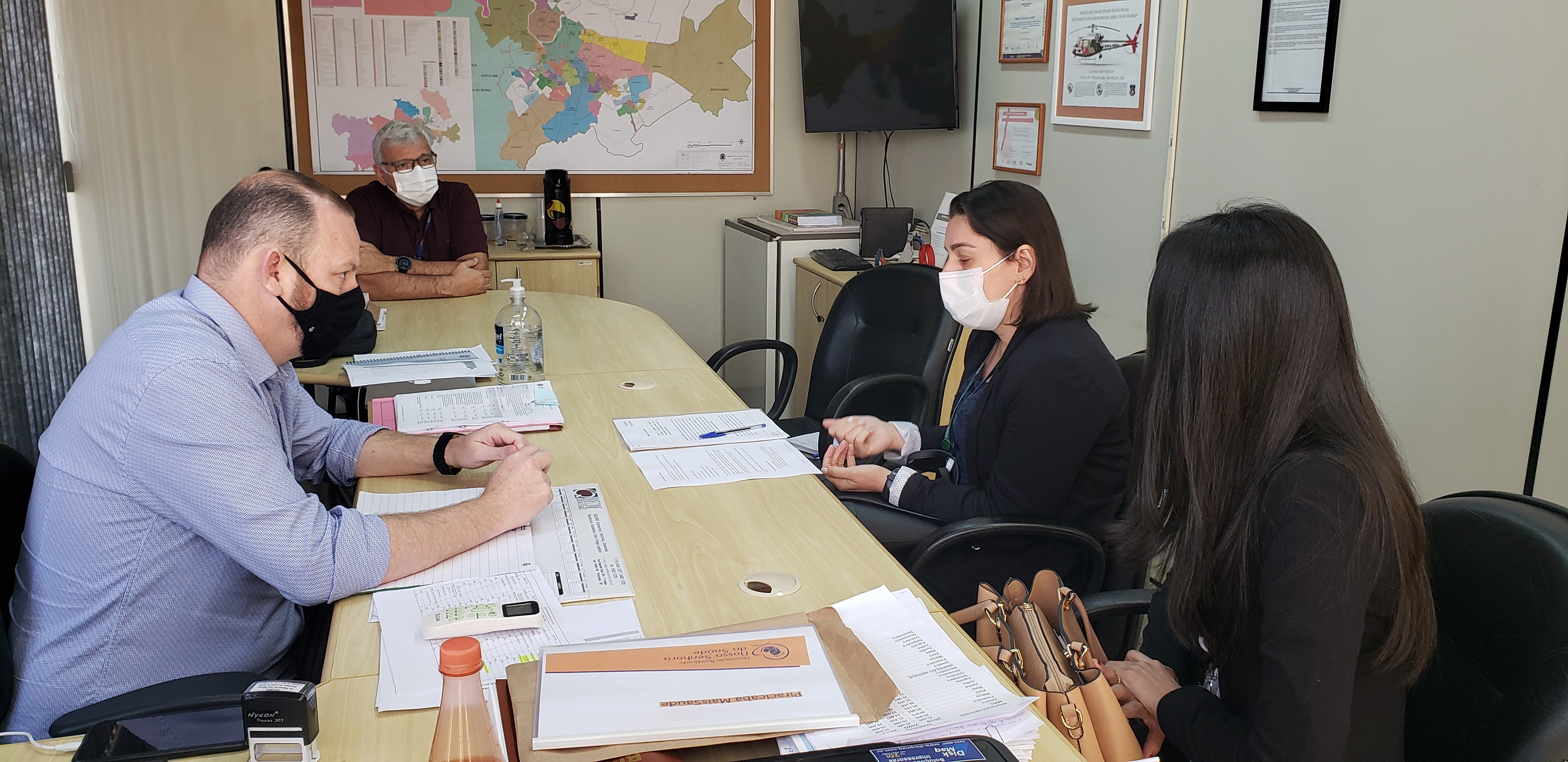 Saúde de Piracicaba informa ao estado interesse em participar de estudos da ButanVac
