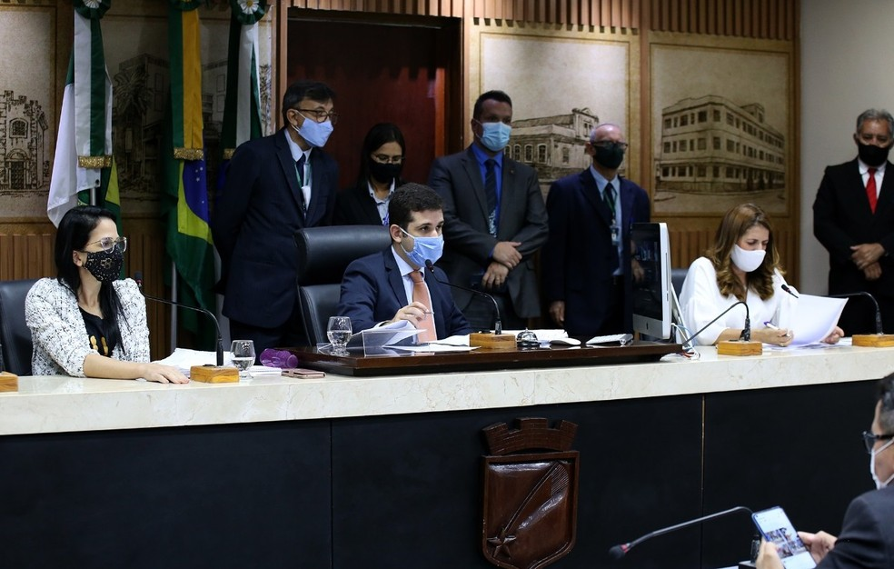 Vereadores aprovam projeto que regulamenta o aluguel social em Natal — Foto: Elpídio Junior/Câmara Municipal de Natal
