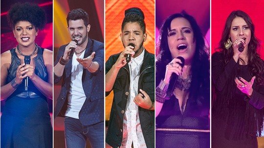 Assista aos vídeos mais bombados da estreia do 'The Voice Brasil'