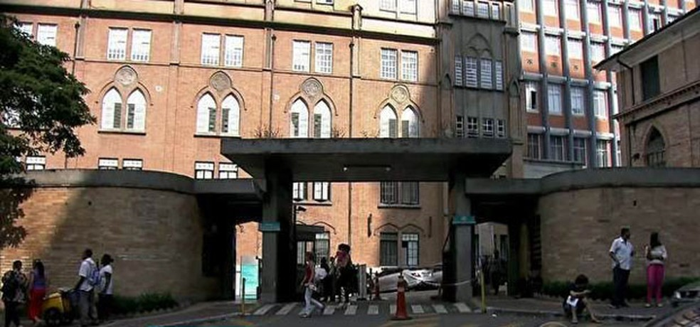 Santa Casa de São Paulo — Foto: Reprodução/TV Globo
