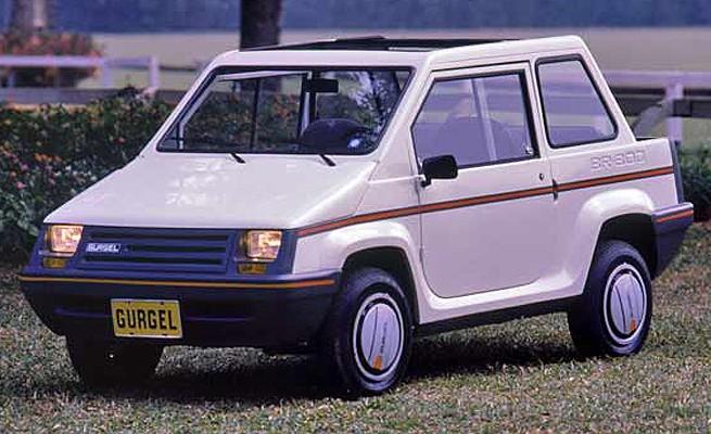 Gurgel BR 800 1988 (Foto: Gurgel)