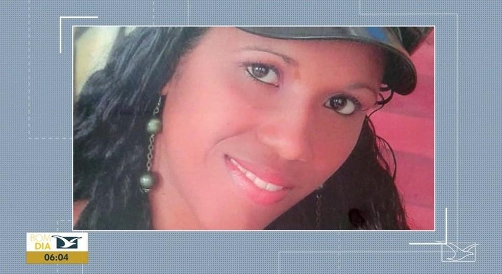Tiana Alves Correa chegou a ser socorrida, mas não resistiu aos ferimentos e morreu no hospital.  — Foto: Reprodução/ TV Mirante