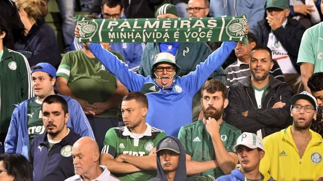 Torcida do Palmeiras no Pacaembu