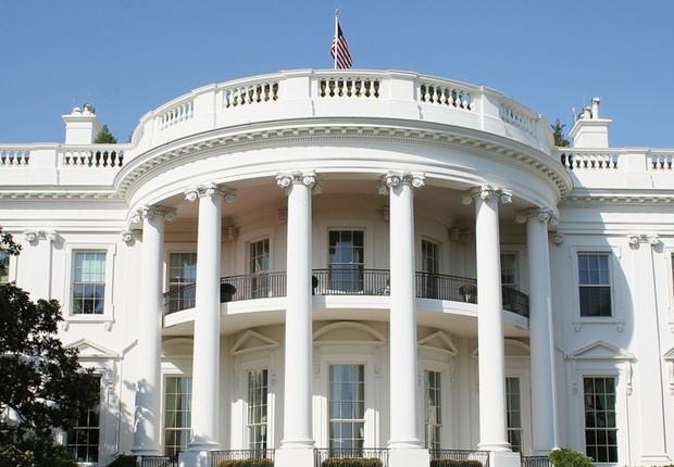 Casa Branca, sede da presidência dos Estados Unidos em Washington (Foto: Divulgação)