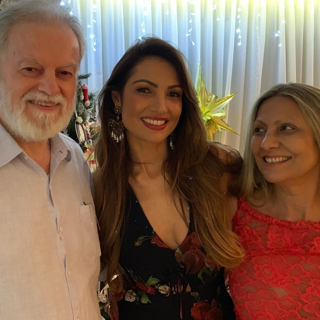 Patrícia Poeta e família (Foto: Reprodução Instagram)