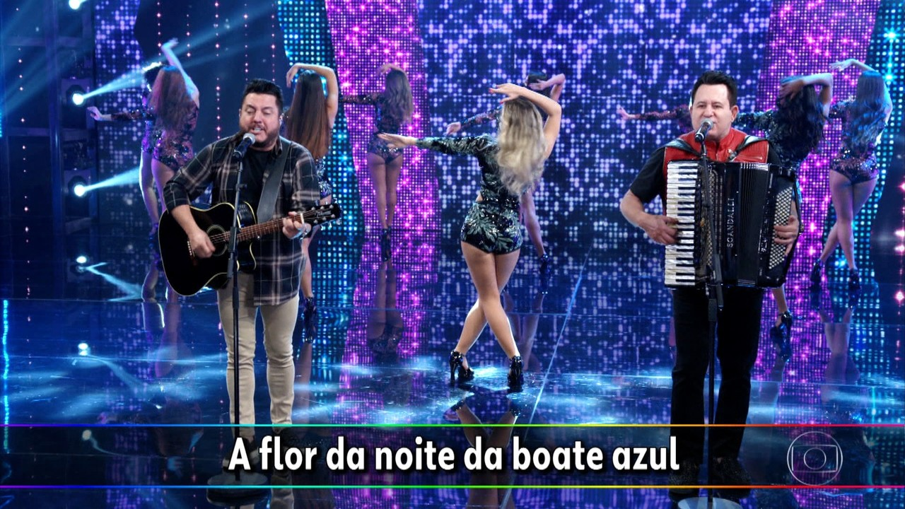 Bruno e Marrone cantam 'Boate Azul'