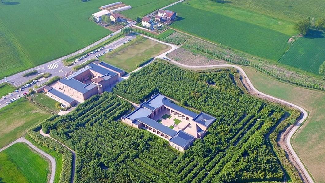 Conheça o maior labirinto do mundo, na Itália (Foto: Divulgação)