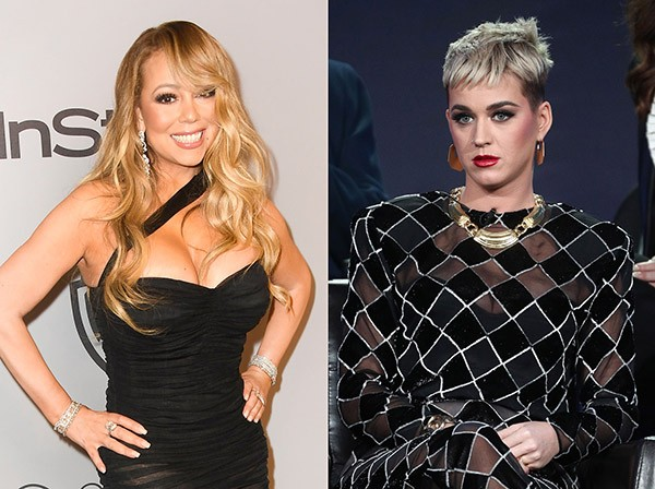 Mariah Carey e Katy Perry (Foto: Getty Images)
