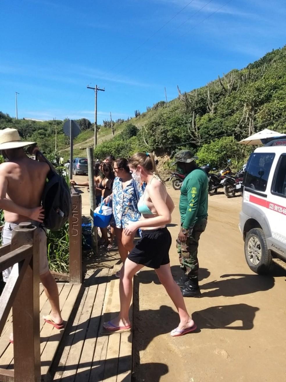 Arraial do Cabo, RJ, libera acesso às prainhas do Pontal para moradores e turistas hospedados na cidade — Foto: Divulgação/Prefeitura de Arraial do Cabo
