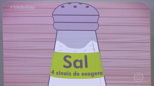 Qual é a dose certa de sal para saúde? Veja os sinais