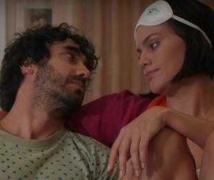 Gabriel Godoy e Letícia Lima em 'Desjuntados' | Divulgação