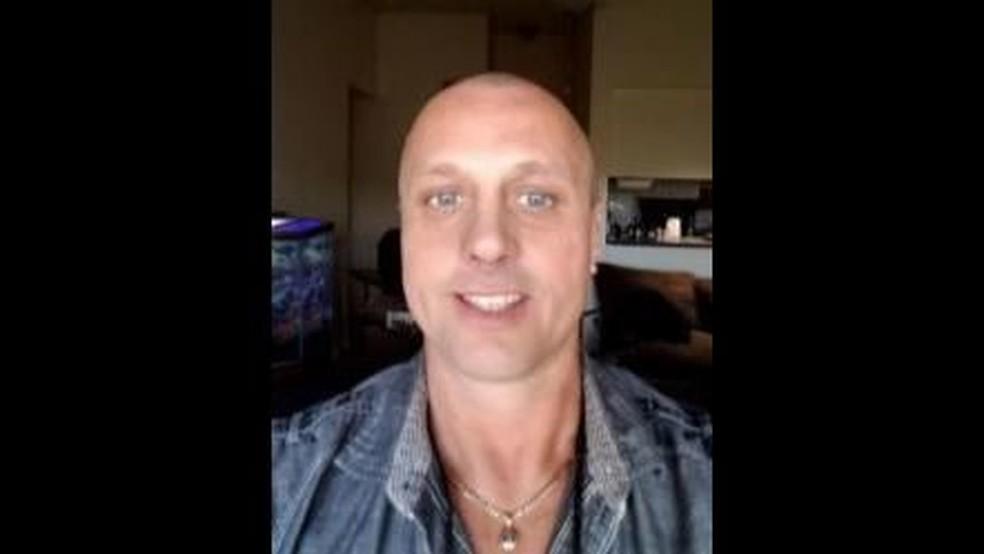 Michael Hunt, preso por ameaçar sequestrar Lana Del Rey (Foto: Divulgação / Polícia de Orlando)
