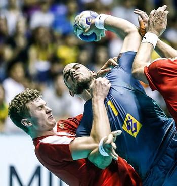 Brasil Dinamarca Mundial Handebol Junior (Foto: Wander Roberto)