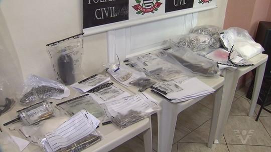 Polícia prende suspeito de ostentar produtos roubados por ele na web