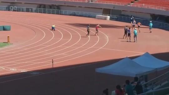 Com fratura na coluna, acreano é 2º lugar nos 100 metros no World Police and Fire Games, na China