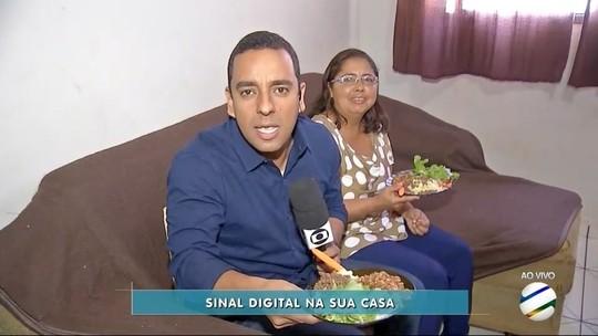 Moradora de Dourados explica as vantagens do sinal digital